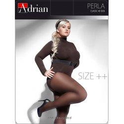 Rajstopy Adrian Perla Size++ 40 den 7-8XL
