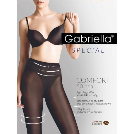 Rajstopy Gabriella Comfort 3D 400 50 den 2-4