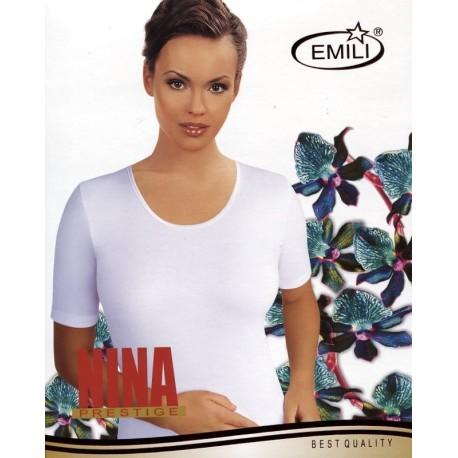 Koszulka Emili Nina S-XL biała