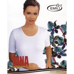 Koszulka Emili Nina S-XL czarna, beżowa