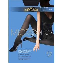 Rajstopy Omsa Micro & Cotton 140 den