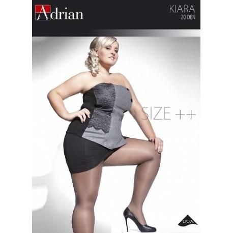 Rajstopy Adrian Kiara Size++ 20 den 7-8XL