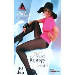 Rajstopy Inez Nina 40 den 5-XXL
