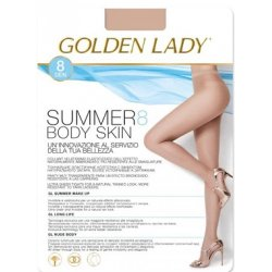 Rajstopy Golden Lady Summer Body Skin 8 den 5-XL