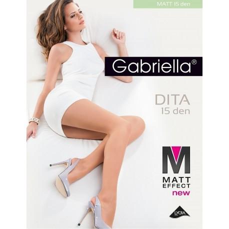 Rajstopy Gabriella Dita Matt 15 den 5-XL